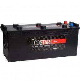 Автомобильный аккумулятор ECOSTART 140 рус 1100А прямая полярность 140 Ач (510x189x220) фото