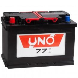 Автомобильный аккумулятор UNO 77L 650А прямая полярность 77 Ач (276x175x190) фото
