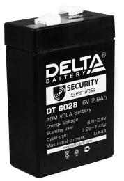 Аккумулятор для ИБП Delta DT 6028 универсальная полярность 3 Ач (66x33x99) фото