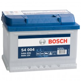 BOSCH S4 004 (60R) 540А обратная полярность 60 Ач (242x175x175)