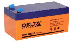 Аккумулятор для ИБП Delta DTM 12032 универсальная полярность 4 Ач (134x67x67) фото