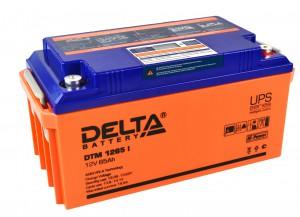 Аккумулятор для ИБП Delta DTM 1265 I универсальная полярность 65 Ач (350x167x173) фото