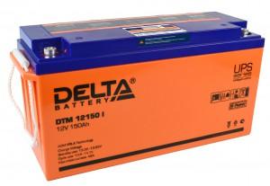 Аккумулятор для ИБП Delta DTM 12150 I универсальная полярность 150 Ач (484x170x241) фото