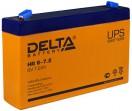 Аккумулятор Delta HR 6-7.2 6V