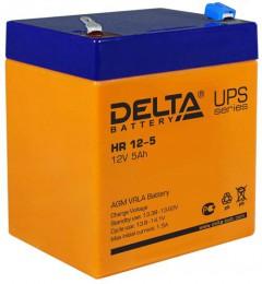 Delta HR 12-5 универсальная полярность 5 Ач (90x70x107)