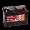 Аккумулятор MOLL AGM Start-Stop 70R