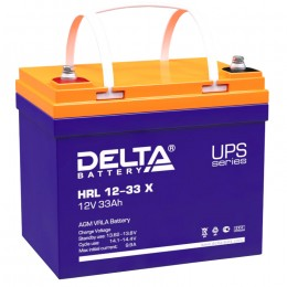 Аккумулятор для ИБП Delta HRL 12-33 X 330А универсальная полярность 33 Ач (195x130x168) фото