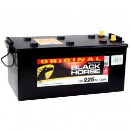 Автомобильный аккумулятор Black Horse 225 euro 1450А обратная полярность 225 Ач (518x291x242) фото