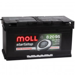 MOLL EFB Start-Stop 95R 900А обратная полярность 95 Ач (353x175x190)