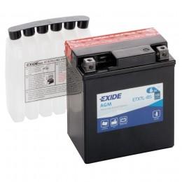 Аккумулятор для мототехники EXIDE ETX7L-BS 100А обратная полярность 6 Ач (113x70x130) фото