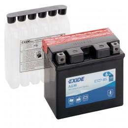 Аккумулятор для мототехники EXIDE ETZ7-BS 100А обратная полярность 6 Ач (113x70x105) фото