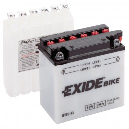 Аккумулятор для мототехники EXIDE EB9-B 100А прямая полярность 9 Ач (135x75x139) фото