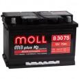 Аккумулятор MOLL M3plus 75R