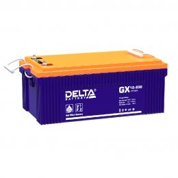 Аккумулятор для ИБП Delta GX 12-230 1100А универсальная полярность 230 Ач (520x269x208) фото