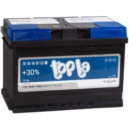 Автомобильный аккумулятор Topla Top 78R 750А обратная полярность 78 Ач (278x175x190) фото