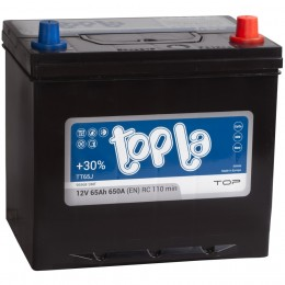 Автомобильный аккумулятор Topla Top 65R 650А обратная полярность 65 Ач (232x173x225) фото