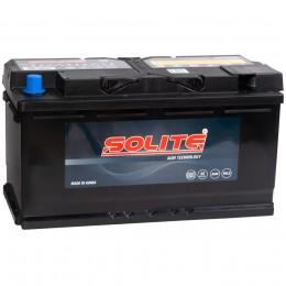 Автомобильный аккумулятор SOLITE AGM 95R 850А обратная полярность 95 Ач (353x175x190) фото