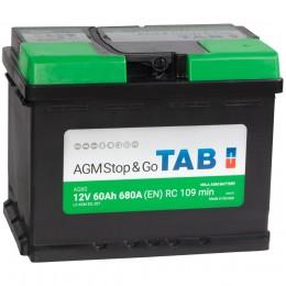 TAB AGM 60R 680A 242x175x190