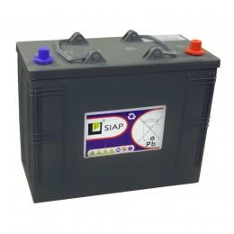Тяговый аккумулятор SIAP 6 GEL 12V 105Ah универсальная полярность 105 Ач (345x170x285) фото
