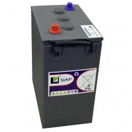 Тяговый аккумулятор SIAP 3 GEL 6V 250A универсальная полярность 250 Ач (311x180x365) фото