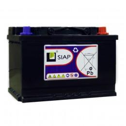 Тяговый аккумулятор SIAP 6 GEL 12V 65A универсальная полярность 65 Ач (308x175x225) фото