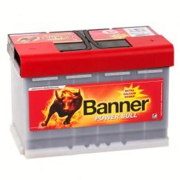 BANNER Power Bull 77R (77 40) 700А обратная полярность 77 Ач (278x175x190)
