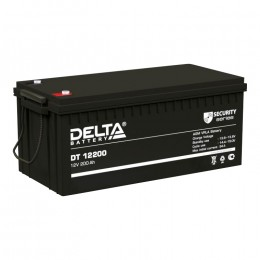 Delta DT 12200 универсальная полярность 200 Ач (523x240x224)