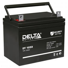 Delta DT 1233 универсальная полярность 33 Ач (197x132x180)