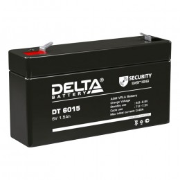 Аккумулятор для ИБП Delta DT 6015 универсальная полярность 2 Ач (97x24x58) фото