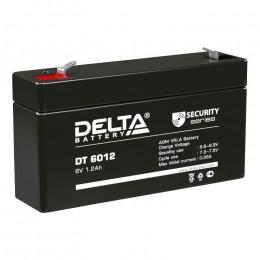 Delta DT 6012 универсальная полярность 2 Ач (97x24x52)