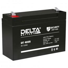 Аккумулятор для ИБП Delta DT 4035 универсальная полярность 4 Ач (90x34x66) фото