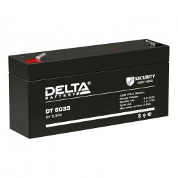 Delta DT 6033 (125) универсальная полярность 4 Ач (125x33x67)