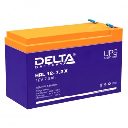 Delta HRL 12-7.2 X 108А универсальная полярность 8 Ач (151x65x100)