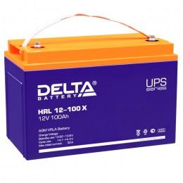 Аккумулятор для ИБП Delta HRL 12-100 X 900А универсальная полярность 100 Ач (330x171x220) фото