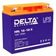 Аккумулятор Delta HRL 12-18 X