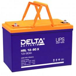 Аккумулятор для ИБП Delta HRL 12-90 X 800А универсальная полярность 90 Ач (306x169x215) фото