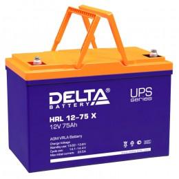 Delta HRL 12-75 X 700А универсальная полярность 75 Ач (258x166x215)