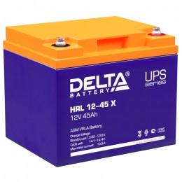 Delta HRL 12-45 X 450А универсальная полярность 45 Ач (198x166x170)