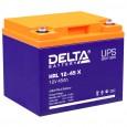Аккумулятор Delta HRL 12-45 X
