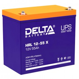 Аккумулятор для ИБП Delta HRL 12-55 X 550А универсальная полярность 55 Ач (229x138x213) фото