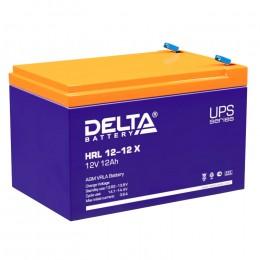 Аккумулятор для ИБП Delta HRL 12-12 X 160А универсальная полярность 12 Ач (151x98x101) фото