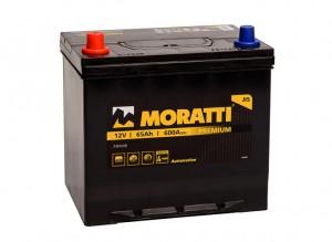 Moratti Asia 65R  600А обратная полярность 65 Ач (232x173x225)