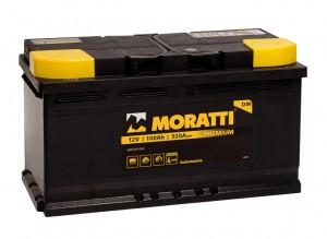 Moratti 100R  920А обратная полярность 100 Ач (353x175x190)