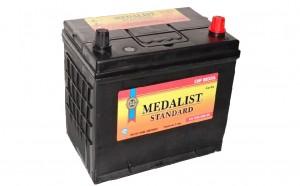 Medalist Standard 70R (80D26L)  680А обратная полярность 70 Ач (260x175x225)