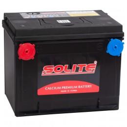 SOLITE 75-650 (75L) боковые клеммы 650А Прямая полярность 75 Ач (230x175x186).