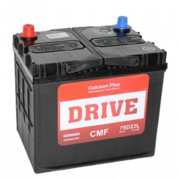 Drive 75D23L (60R) 530А обратная полярность 60 Ач (230x168x220)