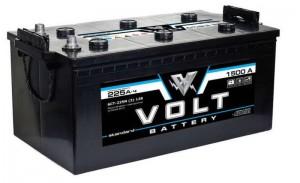 Автомобильный аккумулятор VOLT STANDARD 225 euro 1500А обратная полярность 225 Ач (517x273x240) фото