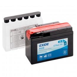 Аккумулятор для мототехники EXIDE ETR4A-BS 35А обратная полярность 3 Ач (113x48x85) фото