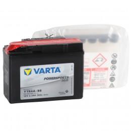 VARTA Powersports AGM YTR4A-BS 30А прямая полярность 3 Ач (114x49x86)