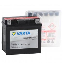 Аккумулятор для мототехники VARTA Powersports AGM YTX5L-BS 80А обратная полярность 4 Ач (114x71x106) фото